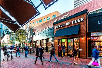 Exterior of World of Beer