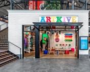 Artkive storefront in Easton's Shop/LAB